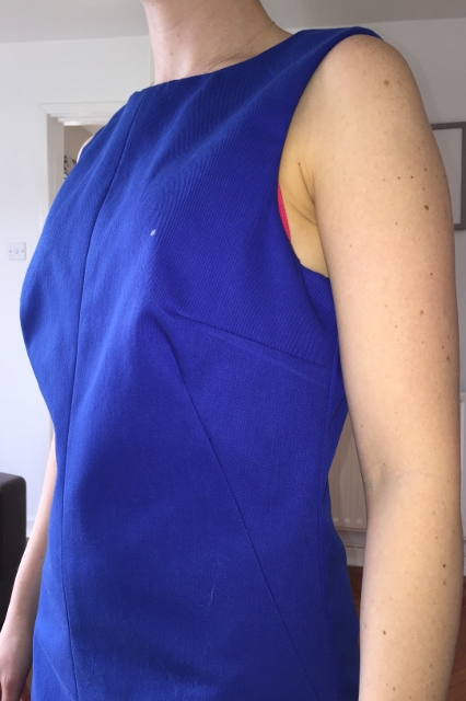 Fitting Simplicity 1609 Alteration Bust Dart